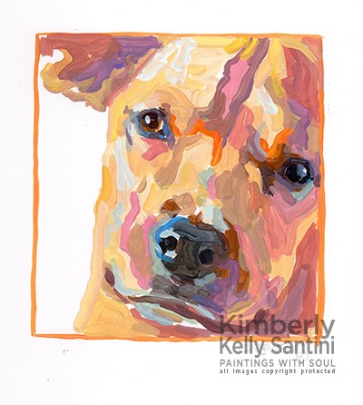 """Untitled"" original fine art by Kimberly Santini"