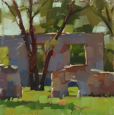 """Life Among the Ruins"" original fine art by Carol Marine"