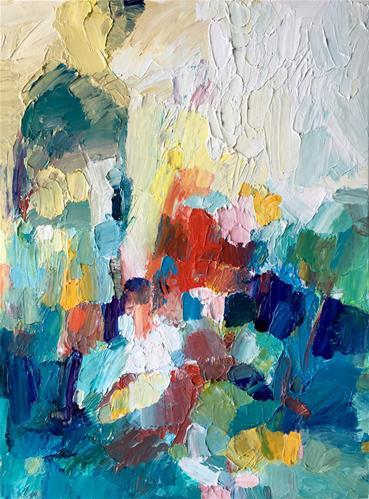 """Emerge"" original fine art by Nava Judith"