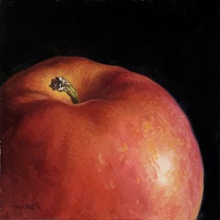 """Apple Top"" original fine art by Michael Naples"