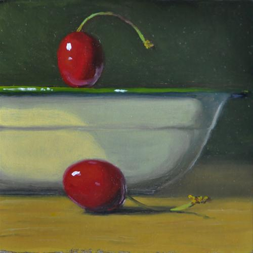"""""""It's All Fun and Games Until Someone Gets Hurt!"""" original fine art by Susan Matteson"""