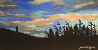 """Early Evening"" original fine art by JoAnne Perez Robinson"