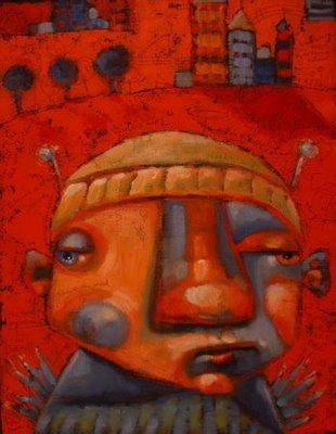 """Divine Angel Of Forty Winks"" original fine art by Brenda York"