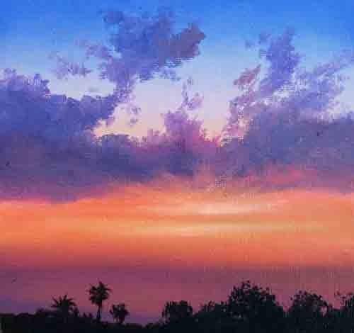 PARADISE LOST original fine art by Gerald Schwartz
