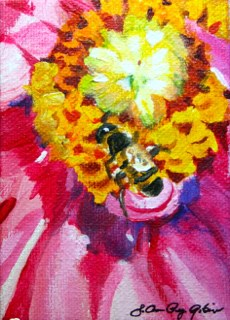 """Up Close and Personal"" original fine art by JoAnne Perez Robinson"