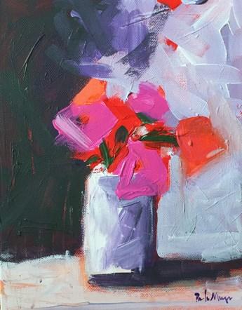 """Flower Drama"" original fine art by Pamela Munger"