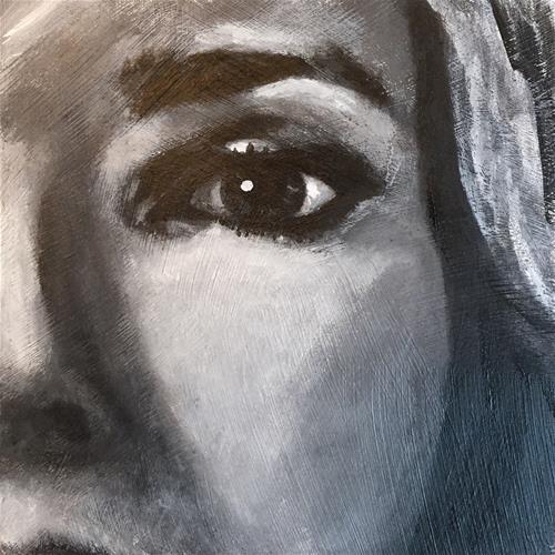 """""""Mel"""" original fine art by Melissa Gresham"""