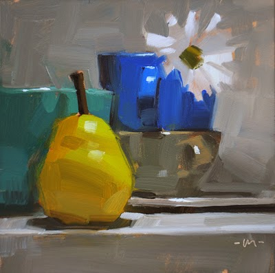 """Arise, Fair Sun"" original fine art by Carol Marine"