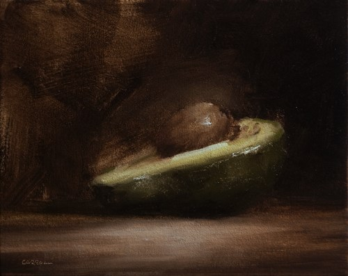 """Avocado"" original fine art by Neil Carroll"