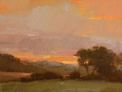 """""""Glorious Morning 2"""" original fine art by Laurel Daniel"""