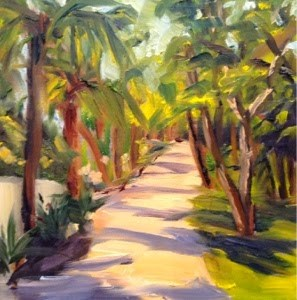 """Florida 6"" original fine art by Debra Kennedy"
