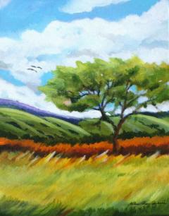 """Open Space"" original fine art by JoAnne Perez Robinson"