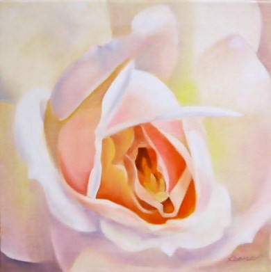 Bee's Delight  (contest/giveaway) original fine art by Carol Keene