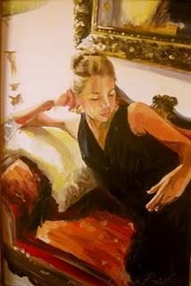 """""""Sita"""" original fine art by Cecilia Rosslee"""