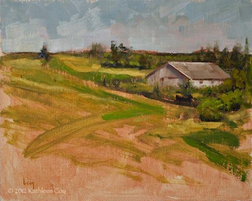 """""""Dry Spell"""" original fine art by Kathleen Coy"""