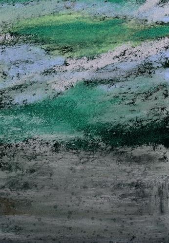 """""""Wet Sand"""" original fine art by Donna Crosby"""