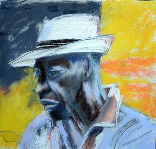 """Sharp"" original fine art by Donna Crosby"