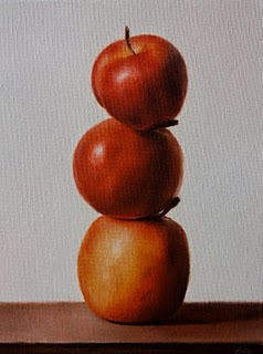 """Crab Apples"" original fine art by Jonathan Aller"
