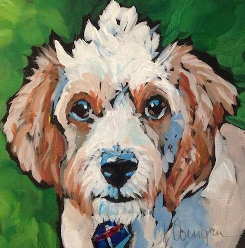 """Cooper"" original fine art by Kat Corrigan"