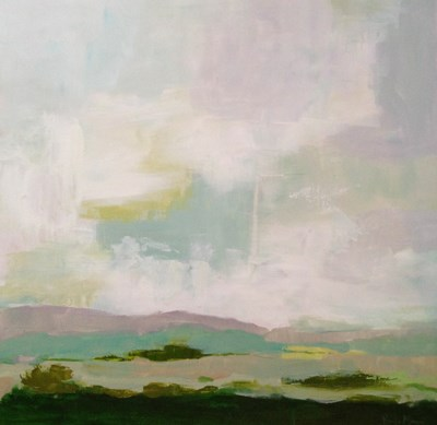 """June Landscape"" original fine art by Pamela Munger"