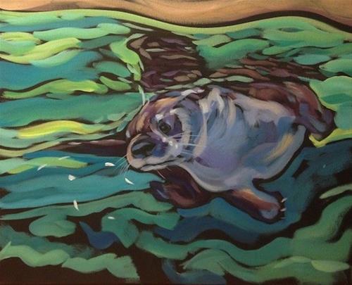 """""""Between"""" original fine art by Kat Corrigan"""