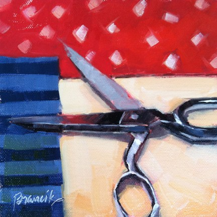 """Memorial Day Quilting"" original fine art by Candace Brancik"