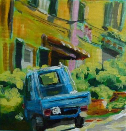 """""""Italienische Momente in der Toscana"""" original fine art by Sabine Hüning"""