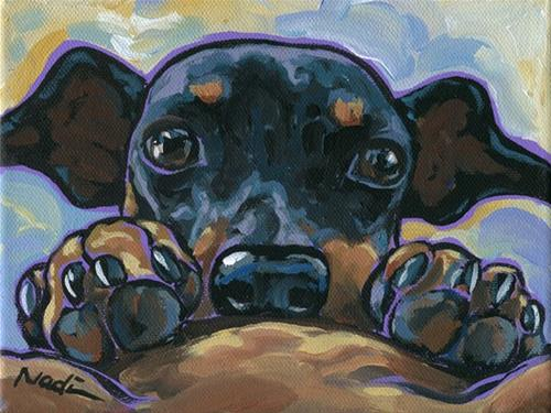 """""""14/44 Cocoa"""" original fine art by Nadi Spencer"""