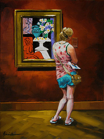 """Impeccable Taste"" original fine art by Karin Jurick"