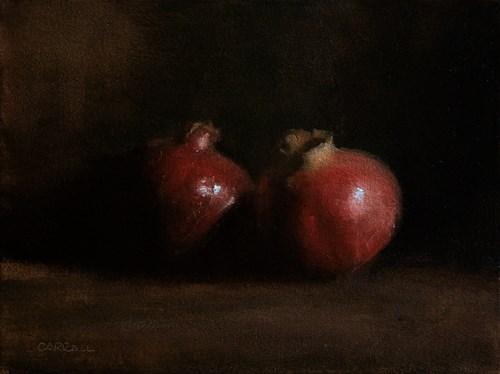 """Pomegranates"" original fine art by Neil Carroll"