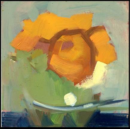 """""""2533 Clover"""" original fine art by Lisa Daria"""