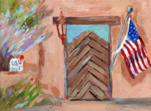 """Santa Fe #11"" original fine art by Suzy 'Pal' Powell"