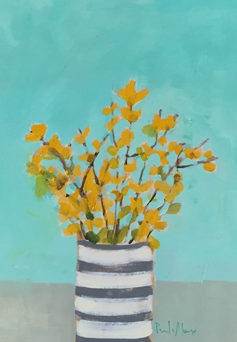 """Forsythia"" original fine art by Pamela Munger"