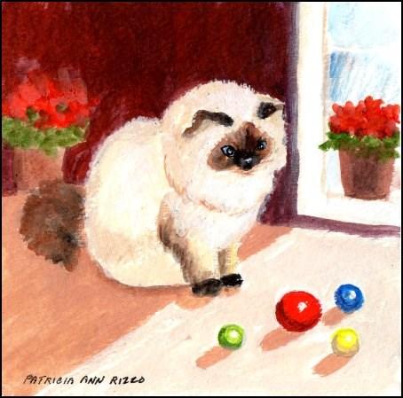 """""""Decisions, Decisions..."""" original fine art by Patricia Ann Rizzo"""