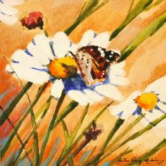"""Soft Landing"" original fine art by JoAnne Perez Robinson"