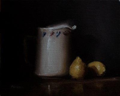 """Jug and Lemons"" original fine art by Neil Carroll"
