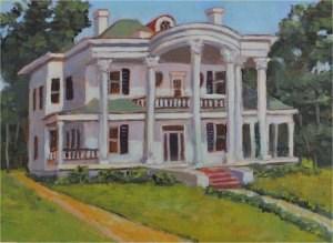 """Grand Old Style"" original fine art by Robert Frankis"