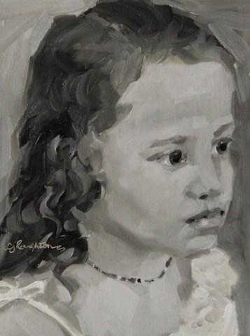 """For Breanna!"" original fine art by C J Roughton"