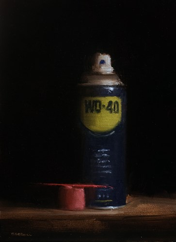"""WD-40"" original fine art by Neil Carroll"