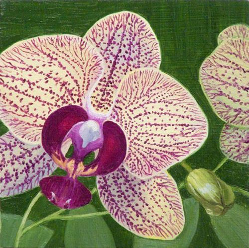 """Spring sensation"" original fine art by Jean Wilkey"