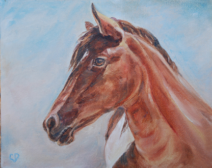 """Day Dreamer"" original fine art by Carol DeMumbrum"