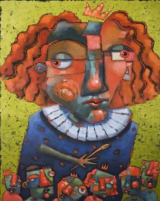 """Uninvited Guests"" original fine art by Brenda York"
