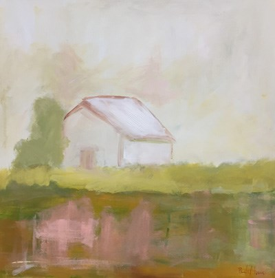 """Field's Edge"" original fine art by Pamela Munger"