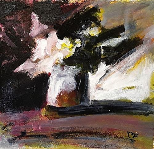 """""""Sunlit Flowers"""" original fine art by Mechele Flowers"""