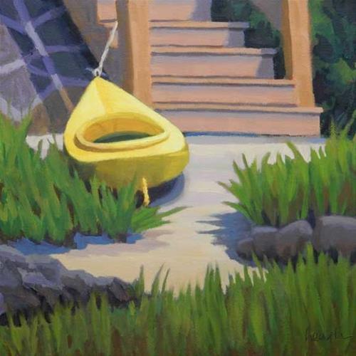 """""""Promise of Adventure"""" original fine art by Bobbi Heath"""