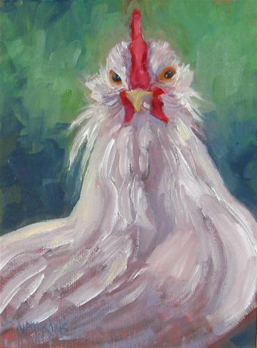 """Finger Lickin Good"" original fine art by Nancy Parsons"