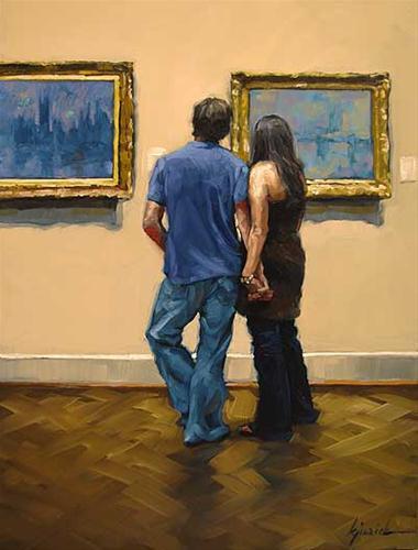 """""""For the Love of Monet"""" original fine art by Karin Jurick"""