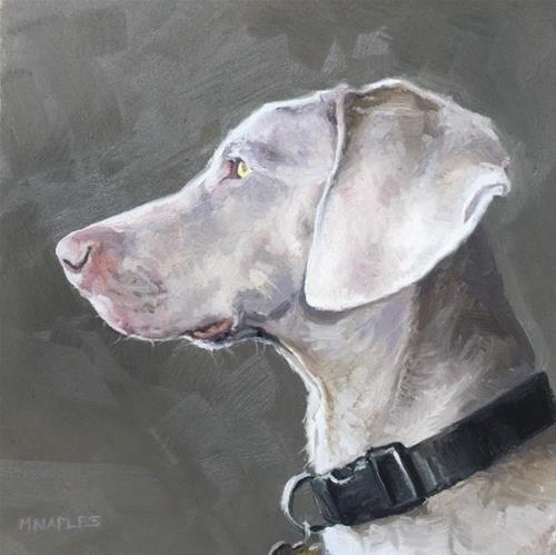 """""""Bentley"""" original fine art by Michael Naples"""