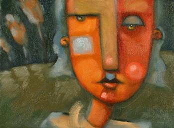 """Her Night Garden"" original fine art by Brenda York"