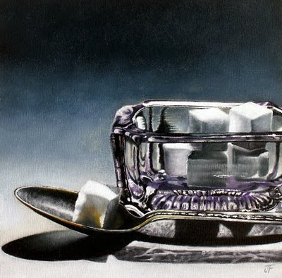 """Sugar Study I - Revisited"" original fine art by Jelaine Faunce"